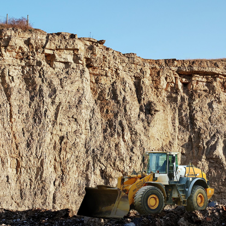 Limestone drying and mining