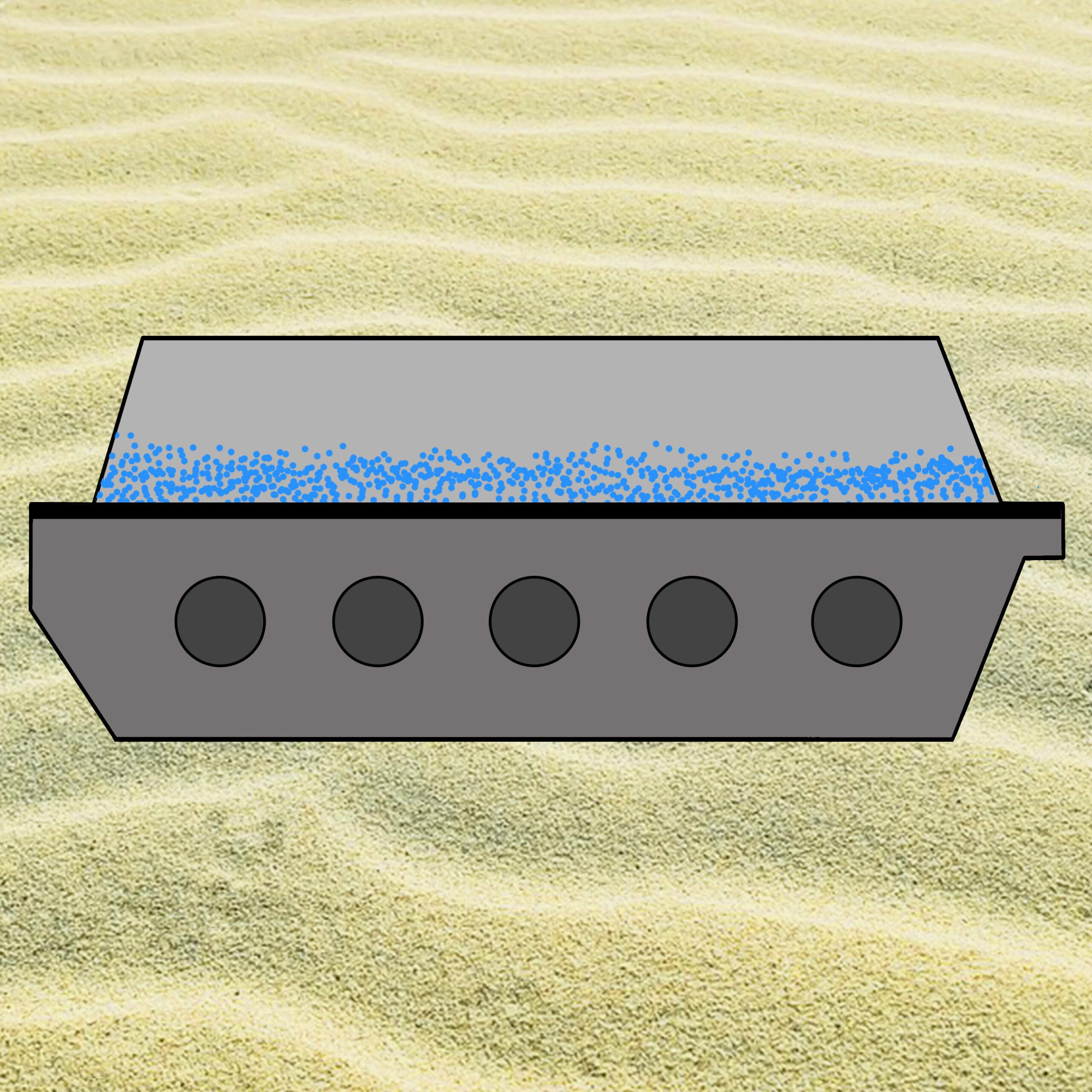 Fluid Bed Fluidization like Quicksand